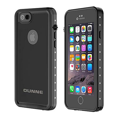 OUNNE iPhone 6/6s Waterproof Case, IP68 Certified with Touch ID Underwater...