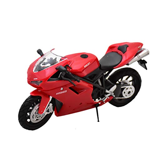 NewRay 57143A Ducati 1198' Red Model Motorbike9(Assorted Color)