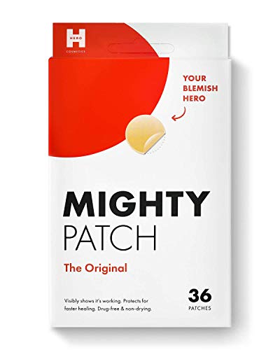 Mighty Patch Original from Hero Cosmetics - Hydrocolloid Acne Pimple Patch...