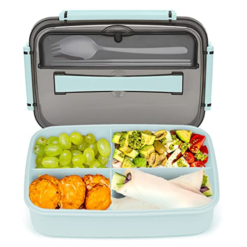Bento Lunch Box Containers, Bento Boxes for Adults, Bento Box for Kids with...