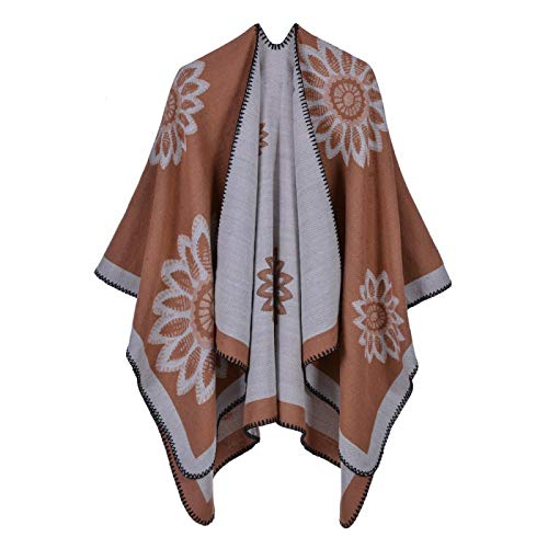 FENGHUAN Cashmere Scarf, British Style in Autumn and Winter, Warmth, Split...
