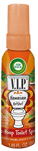 Air Wick V.I.P. Pre-Poop Toilet Spray, Up to 100 uses, Contains Essential...