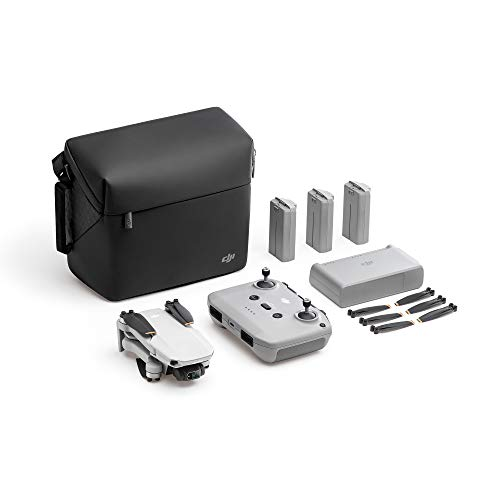 DJI Mini 2 Fly More Combo – Ultralight Foldable Drone, 3-Axis Gimbal with...