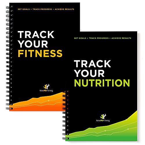 NewMe Fitness Journal for Women & Men - Fitness and Nutrition Planner to...