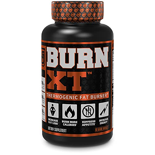 Burn-XT Thermogenic Fat Burner - Weight Loss Supplement, Appetite...
