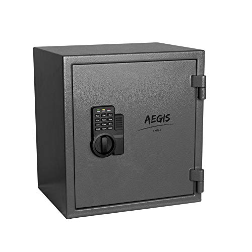 1.02 CF Fireproof Electronic Security Safe Cabinet- Cabinet Safe Lock Boxes...
