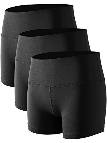 CADMUS Women's Stretch Fitness Running Shorts with Pocket,3...