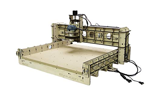 BobsCNC Evolution 4 CNC Router Kit with the Router Included (24' x 24'...