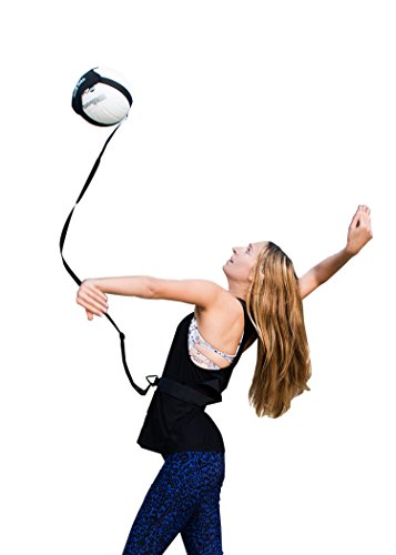 Volleyball Training Equipment Aid Single Solo Practice for Serving and Arm...