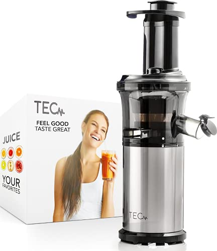 TEC Slow Masticating Juicer Machines Vegetable and Fruit Small Cold Press...