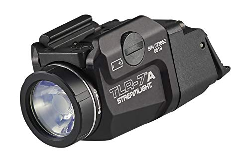 STREAMLIGHT 69424 TLR-7A Flex 500-Lumen Low-Profile Rail-Mounted Tactical...