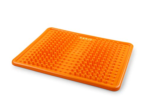 Kanjo Acupressure Foot Pain Relief Mat | Pressure Point Foot Massager for...