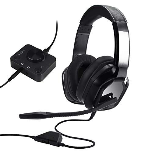 Amazon Basics Gaming Headset for PC and Consoles (Xbox, PS4) with Desktop...