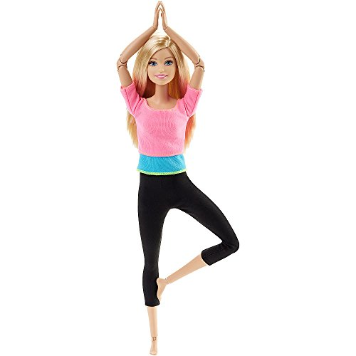 Barbie Made to Move Doll, Pink Top [Amazon Exclusive]