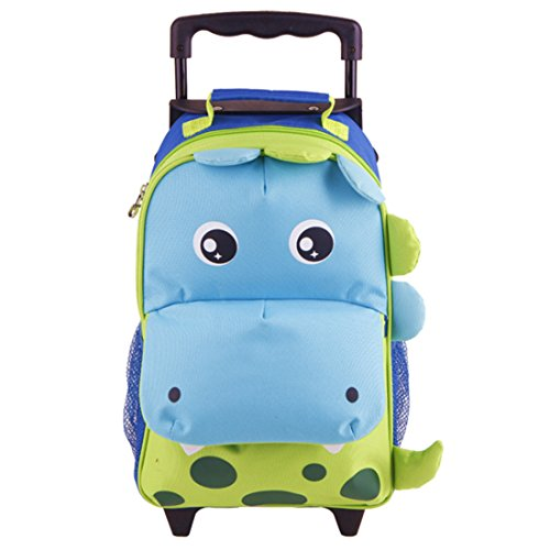 Yodo Zoo 3-Way Kids Suitcase Luggage or Toddler Rolling Backpack with...