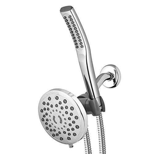 Waterpik 7-Mode Power Wand Shower Spa System with 6-Foot Hose and...