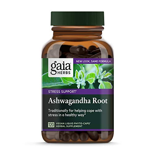 Gaia Herbs Ashwagandha Root, For Stress Relief, Immune Support, Balanced...