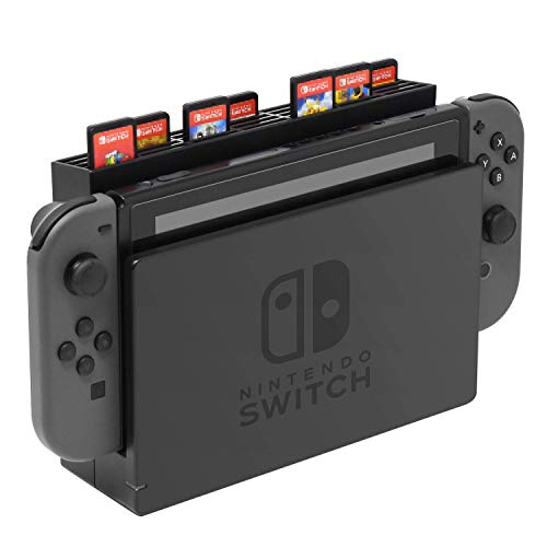 Skywin Game Card Stand for Nintendo Switch - Switch Game Card Case Holds Up...