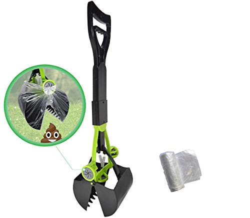 Hygena Scoop Jaw Pooper Scooper with Bag Grabbers - purchase comes with...
