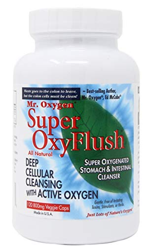 SUPEROxyFlush® Unleashed! Absolute TOP Best Colon Cleanser! 120 Caps
