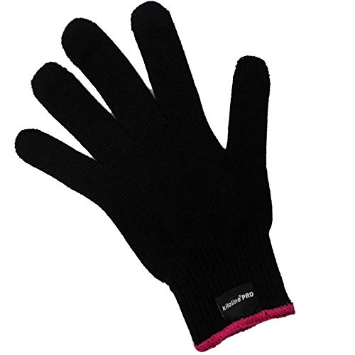 Kiloline Professional Heat Resistant Glove for Hair Styling Heat Blocking...