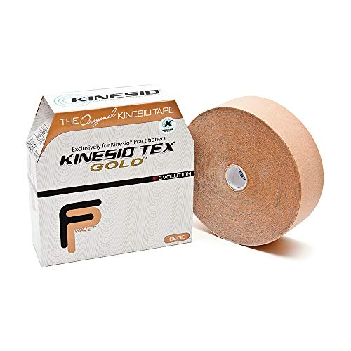 Kinesio Taping - Elastic Therapeutic Athletic Tape Tex Gold FP - Bulk Roll...