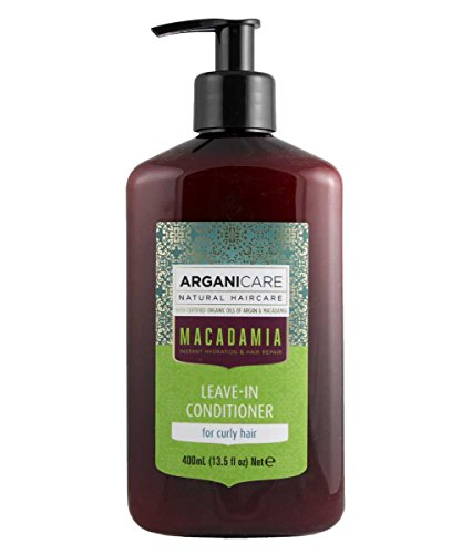 Arganicare Hydrating Macadamia Leave in Conditioner for Curly Hair Enriched...