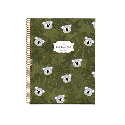 MIQUELRIUS 47987 – Spiral Notebook A4, Hardcover, 120 Sheets Grid...