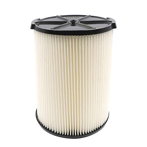 Standard Wet/Dry Vac Filter VF4000 for RIDGID Vacs 5 Gallons and Larger...