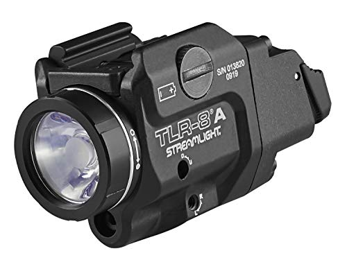 Streamlight 69414 TLR-8A Flex Low-Profile Rail-Mounted Tactical Light,...
