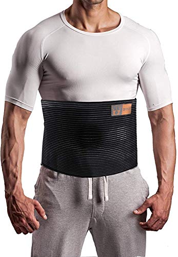 Plus Size Umbilical Hernia Support Belt I Pain and Discomfort Relief from...