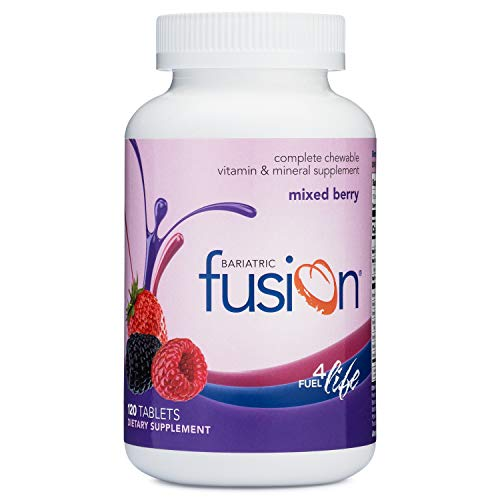 Bariatric Fusion Mixed Berry Complete Chewable Bariatric Multivitamin For...