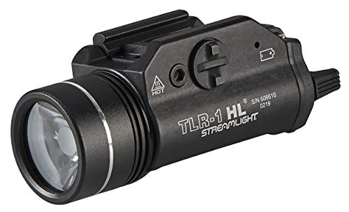 Streamlight 69260 TLR-1 HL 1000-Lumen Tactical Weapon Mount Light With Rail...
