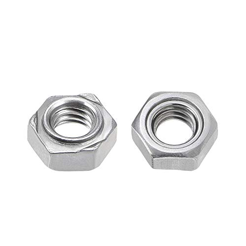 uxcell Hex Weld Nuts,5/16-18 Carbon Steel with 3 Projections Machine Screw...