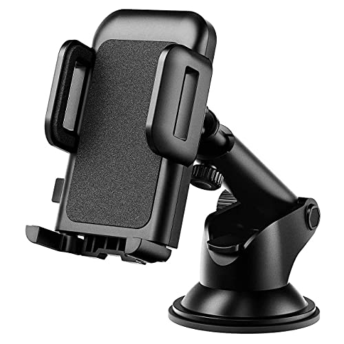 Car Phone Mount, Phone Holder for Car, Easy Installation with One-Touch...