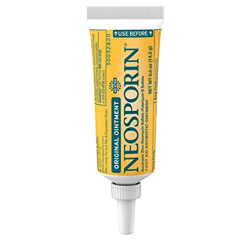 Neosporin Original First Aid Antibiotic Ointment with Bacitracin, Zinc for...