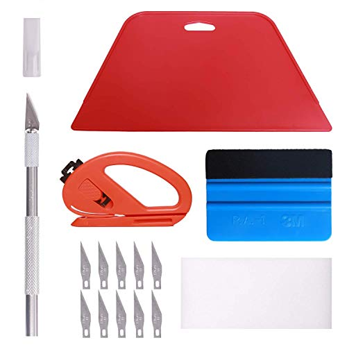 Wallpaper Smoothing Tool Kit, Multi-Function 15 Pcs Smoother Tools Set for...