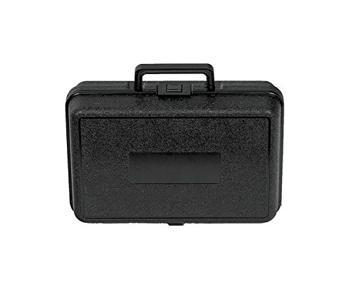 Plastic Plastic Carrying Case with Foam, 12' x 8' x 3 3/4'