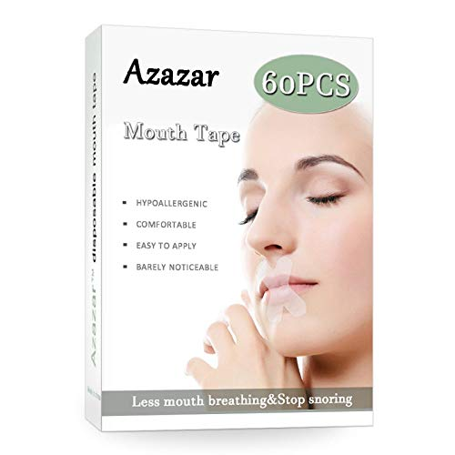 Sleep Strips 60 Pcs,Advanced Gentle Mouth Tape for Better Nose Breathing,...