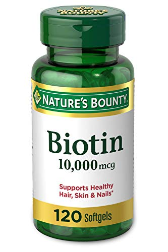 Biotin by Nature's Bounty, Vitamin Supplement, Supports Metabolism for...
