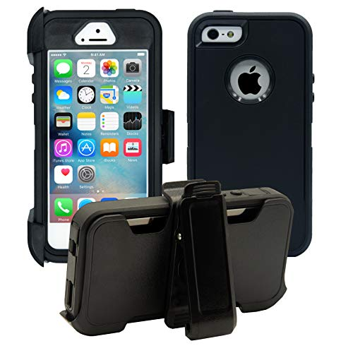AlphaCell Cover Compatible with iPhone 5 / 5S / SE (2016)| 2-in-1 Screen...