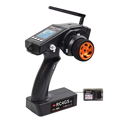 Radiolink RC4GS V2 4 Channels RC Transmitter and R6FG Gyro Receiver 2.4GHz...