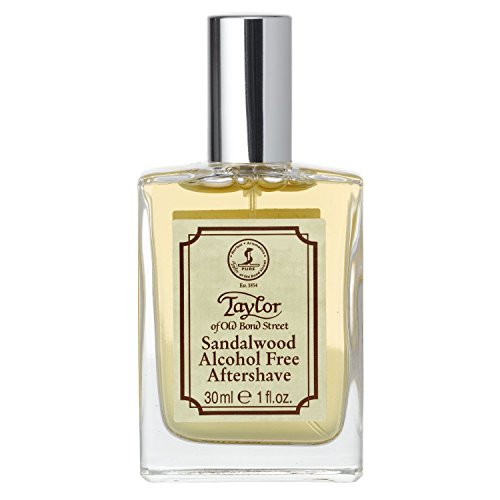 Taylor of Old Bond Street Luxury Aftershave Lotion, Sandalwood, 1.06-Ounce