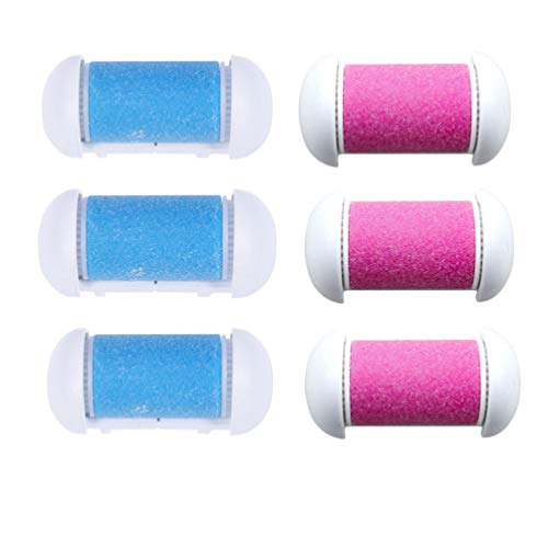 Minkissy 6pcs Replacement Rollers Foot File Refills Compatible Rollers...