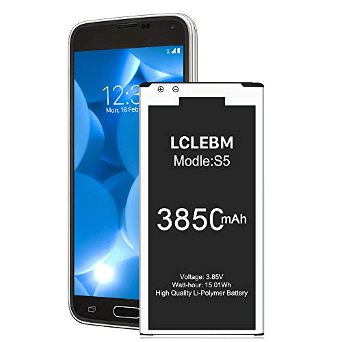 Galaxy S5 Battery   LCLEBM S5 Battery Li-ion Replacement Battery for...