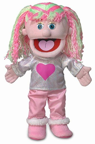 14' Kimmie, Pink Girl, Hand Puppet