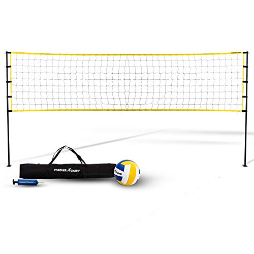 Forever Champ Volleyball Net System - Includes 32x3 Feet Regulation Size...