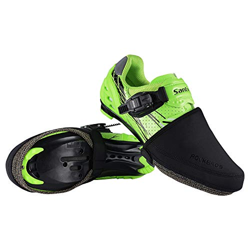 ROCKBROS Cycling Shoe Covers Toe Covers Winter Toe Warmers Cycling...