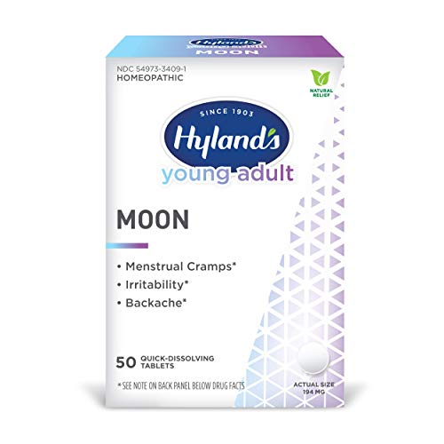 Menstrual Cramp, Irritability and Back Pain Relief, Hyland's Young Adult...