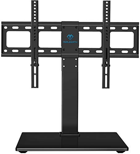 PERLESMITH Universal Swivel TV Stand / Base - Table Top TV Stand for 37-65...